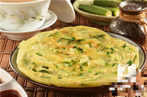 鸡蛋面粉葱花饼的做法