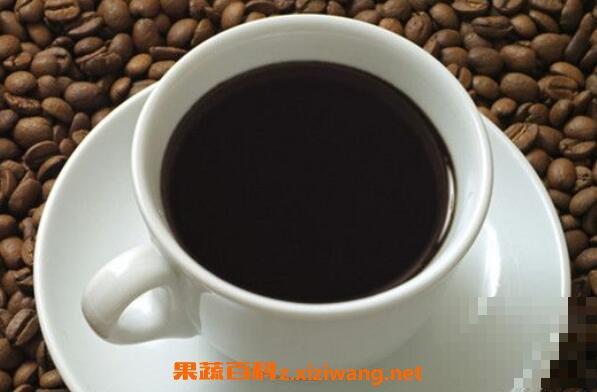 喝黑咖啡的好处与坏处